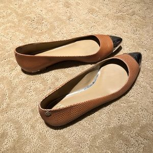 Ann Taylor Leather Flats